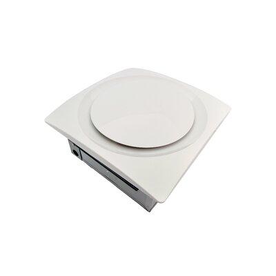 SlimFit 90 CFM Energy Star Bathroom Fan with Sensor Finish: True White
