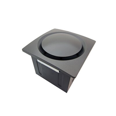 Super Quiet 80 CFM Bathroom Ventilation Fan Finish: Oil Rubbed Bronze