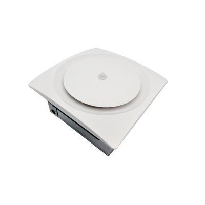 SlimFit 80-140 CFM Energy Star Bathroom Fan Finish: White