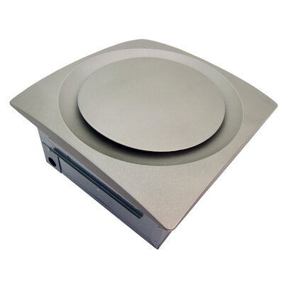 SlimFit 120 CFM Energy Star Bathroom Fan with Sensor Finish: Satin Nickel