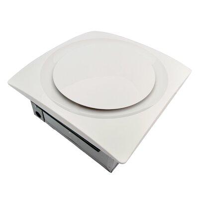 Slim Fit 120 CFM Energy Star Bathroom Ventilation Fan Finish: White