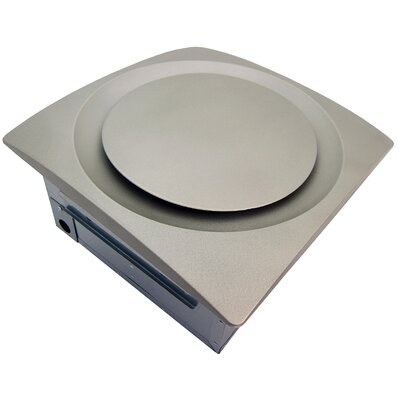 SlimFit 80-140 CFM Energy Star Bathroom Fan Finish: Satin Nickel