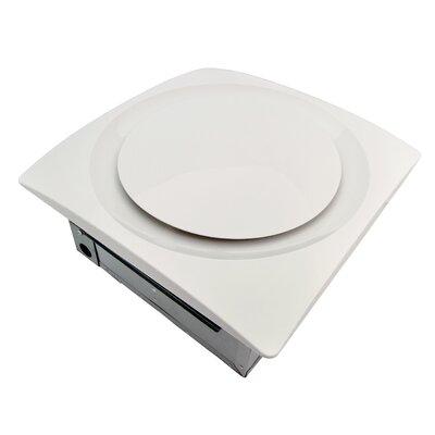 SlimFit 120 CFM Energy Star Bathroom Fan with Sensor Finish: True White