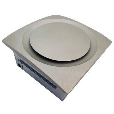 Slim Fit 120 CFM Energy Star Bathroom Ventilation Fan Finish: Satin Nickel