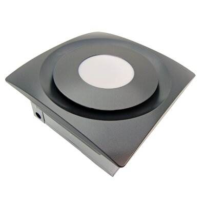 SlimFit 120 CFM Bathroom Fan with Light and Sensor Finish: Oil Rubbed Bronze