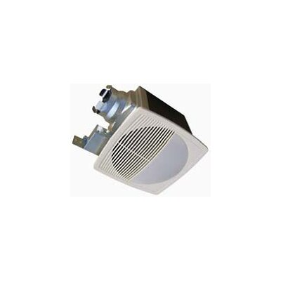 100 CFM Energy Star Bathroom Fan with Light/Nightlight