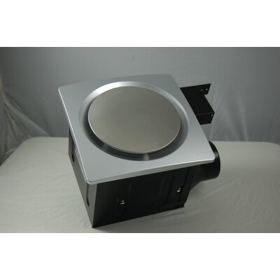 Super Quiet 110 CFM Bathroom Ventilation Fan Finish: Silver