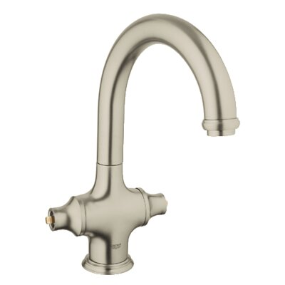 Bridgeford Single Hole Standard Kitchen Faucet Less Handles Finish: Brushed Nickel