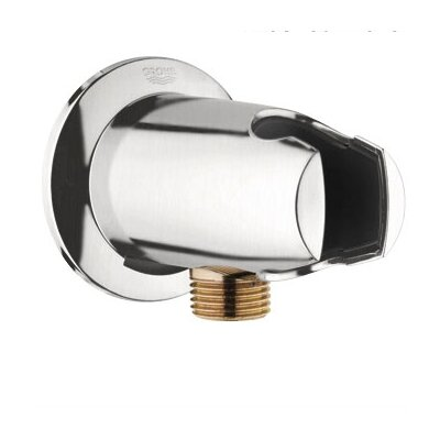 Movario Wall Union with Hand Shower Holder Finish: Brushed Nickel
