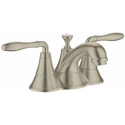 Seabury Double Handle Centerset Bathroom Faucet Finish: Brushed Nickel