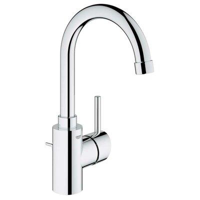 Concetto Single Handle Single Hole Bathroom Faucet Finish: Chrome