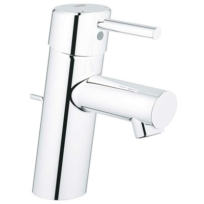 Concetto Single Handle Single Hole Vessel Faucet Finish: Chrome