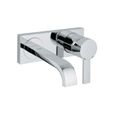Allure Single Handle Wall Mounted Bathroom Faucet