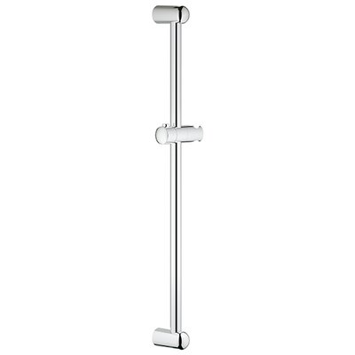 Tempesta 600 Shower Rail Finish: Chrome