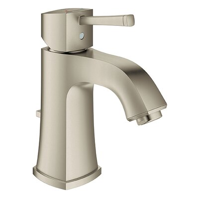 Grandera Single Handle Single Hole Bathroom Sink Faucet Finish: Brushed Nickel