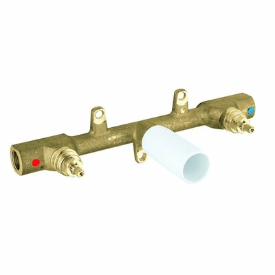 Lavatory 3-Hole Wall Mount Rough-In Valve