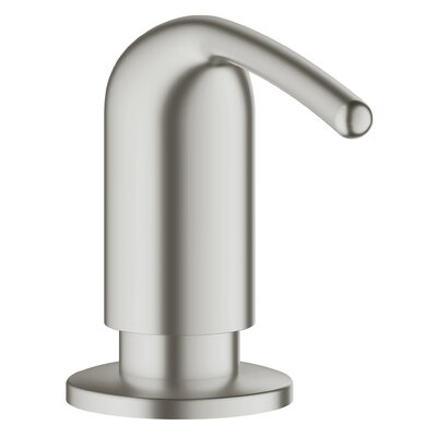 Ladylux Soap & Lotion Dispenser Finish: Nickel