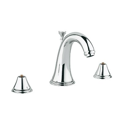 Geneva Widespread Bathroom Faucet, Less Handles Finish: Chrome