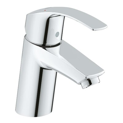 New Eurosmart Single Handle Centerset Faucet Finish: Silver