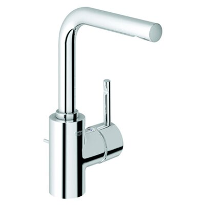 Essence Single Handle Single Hole Bathroom Faucet Finish: Chrome