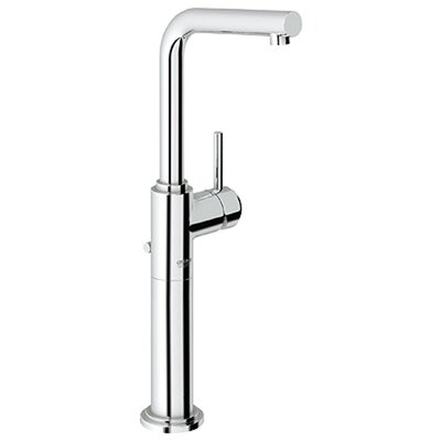 Atrio Single Handle Single Hole Bathroom Faucet Finish: Chrome