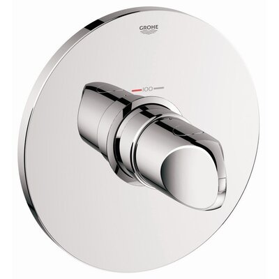 Veris Thermostatic Volume Control Faucet Trim with Knob Handle