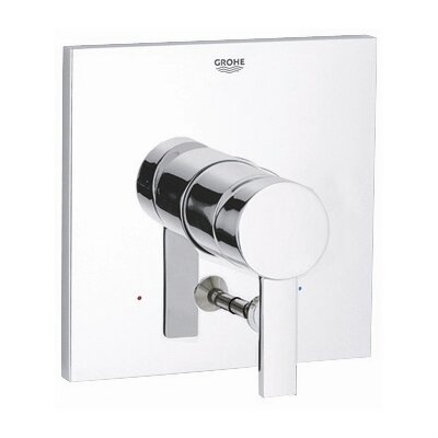 Allure Pressure Balance Diverter Valve Faucet Trim with Lever Handle
