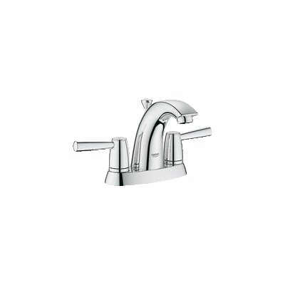 Arden Double Handle Centerset Bathroom Faucet Finish: Brushed Nickel