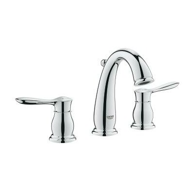Parkfield Double Handle Widespread Bathroom Faucet Finish: Chrome