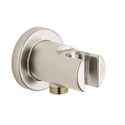 Wall Union with Holder Finish: Brushed Nickel