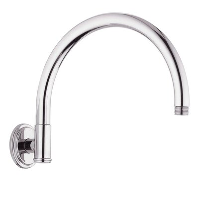 Rain Shower Retro Shower Arm Finish: Sterling