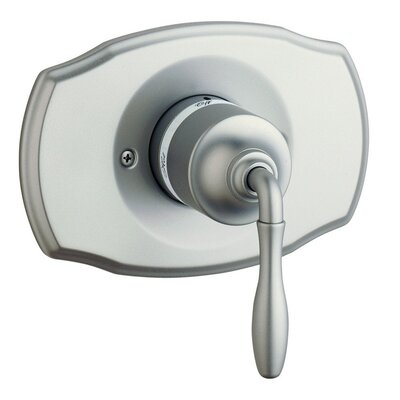 Seabury Pressure Balance Shower Faucet Trim Only with Lever Handle Finish: Satin Nickel