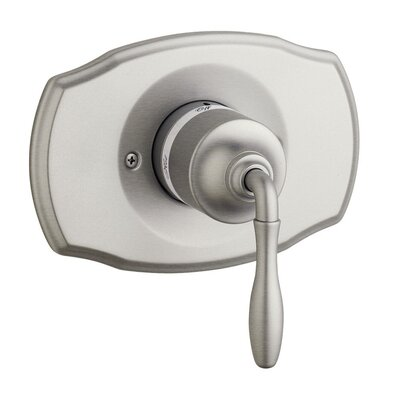 Seabury Pressure Balance Shower Faucet Trim Only with Lever Handle Finish: Brushed Nickel