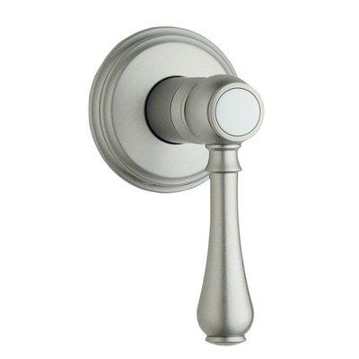 Geneva Volume Control Faucet Shower Faucet Trim Only Finish: Satin Nickel