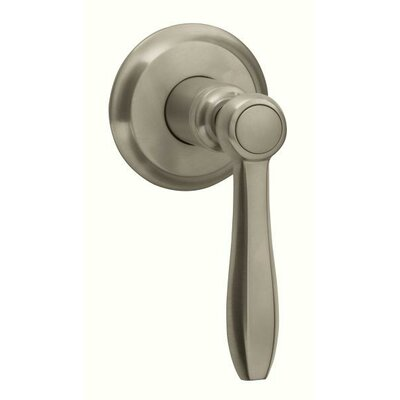 Somerset Volume Control Faucet Trim with Lever Handle Finish: Brushed Nickel