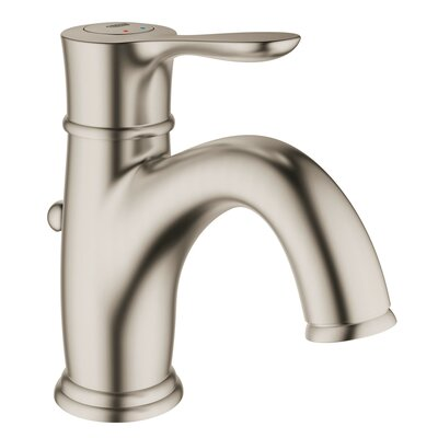 Parkfield Centerset Lavatory Faucet Single Handle Finish: Brushed Nickel Infinity