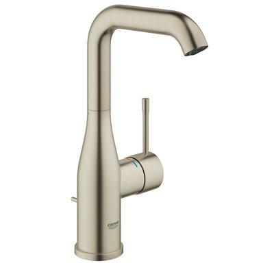 Essence Centerset Lavatory Faucet Single Handle Finish: Brushed Nickel Infinity