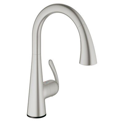 Ladylux Touch Single Handle Kitchen Faucet Finish: SuperSteel InfinityFinish