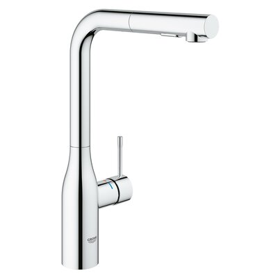 Essence Pull Out Single Handle Kitchen Faucet Finish: StarLight Chrome