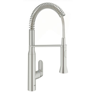K7 Single Handle Deck Mount Semi-Pro Kitchen Faucet