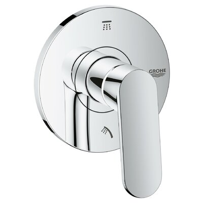 Eurosmart Cosmopolitan 3-Port Diverter Shower Faucet Trim with Lever Handle