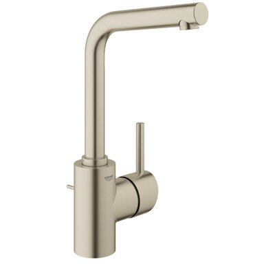Concetto Single Hole Single Handle Bathroom Faucet Finish: Brushed Nickel