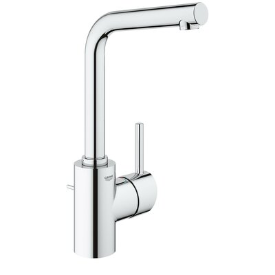 Concetto Single Hole Single Handle Bathroom Faucet Finish: StarLight Chrome