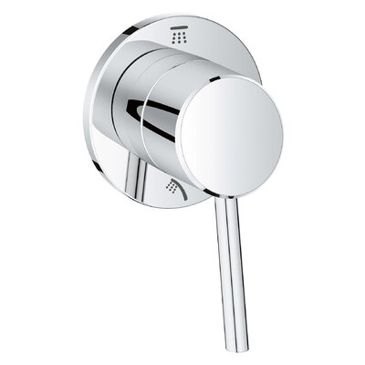 Concetto Single Handle 2-Way Diverter Shower Faucet Trim Only Finish: StarLight Chrome
