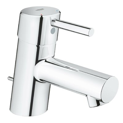 Concetto Single Hole Single Handle Bathroom Faucet with Drain Assembly Finish: StarLight Chrome