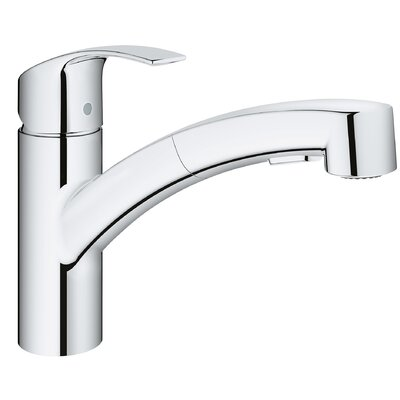 Eurosmart Single Handle Pull Out Standard Kitchen Faucet with Dual Spray