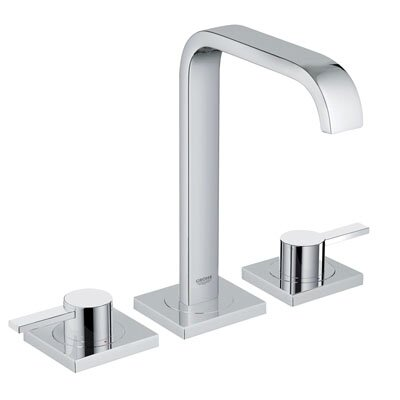 Allure Double Handle Widespread Bathroom Faucet