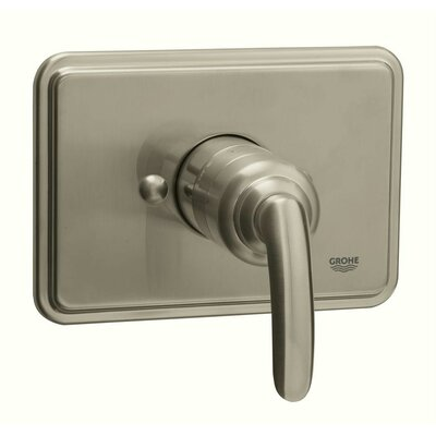 Talia Pressure Balance Shower Faucet Trim with Lever Handle Finish: Brushed Nickel