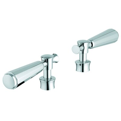 Kensington Lever Handles Finish: Chrome