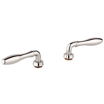 Seabury Lever Handles Finish: Polished Nickel